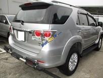 Bán xe Toyota Fortuner V 4x2AT đời 2012, màu bạc