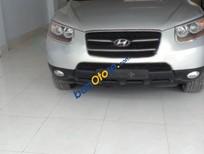 Cần bán Hyundai Santa Fe MLX đời 2007, màu bạc, xe cũ