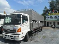 Bán xe tải chuyên dụng Hino FC9JLSW tổng tải 10,4 tấn chở Heo giá 780 triệu