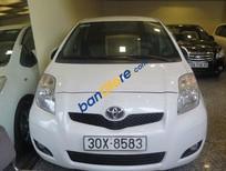 Bán Toyota Yaris AT đời 2010, màu trắng