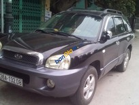 Cần bán xe Hyundai Santa Fe Gold đời 2003, màu đen