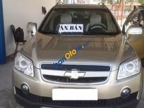 Cần bán lại xe Chevrolet Captiva đời 2008, màu ghi vàng