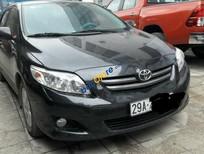 Bán Toyota Corolla Altis 1.8 MT đời 2010, màu đen, xe nhập