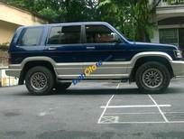 Bán Isuzu Trooper LS đời 2000, màu xanh lam, xe nhập
