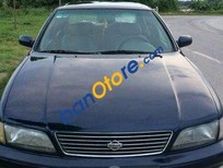 Cần bán Nissan Cefiro MT đời 1996, màu đen số sàn, giá 119tr