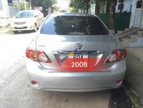 Bán xe Toyota Corolla Altis MT đời 2008, màu bạc