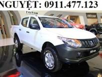 Bán xe Mitsubishi Triton mới 2016, màu trắng, nhập khẩu chính hãng - Lh Lê Nguyệt: 0905.883.034