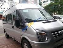 Cần bán xe Ford Transit MT sản xuất 2014, màu bạc số sàn