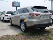 Tín Phát Auto cần bán xe Toyota Highlander LE sản xuất 2016, màu vàng