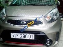Cần bán xe Kia Morning AT năm 2014, màu nâu, giá tốt