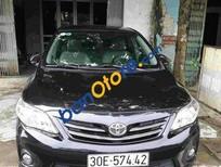 Bán ô tô Toyota Corolla altis đời 2012, màu đen