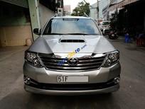Bán ToyotaFortunerG(máydầu) Sx 2015, màu bạc