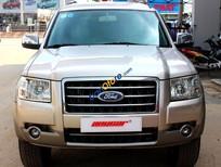 Cần bán Ford Everest 2.5MT sản xuất 2007, màu vàng, giá tốt, 66.000km, những chuyến đi xa
