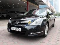 Bán xe Nissan Teana 2.0AT đời 2011, màu đen, nhập khẩu nguyên chiếc