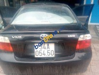 Bán Toyota Vios MT đời 2005, màu đen đã đi 250000 km