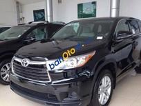 Bán Toyota Highlander LE sản xuất 2016, màu đen, giá 2 tỷ 358 triệu