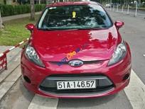 Cần bán gấp Ford Fiesta 1.6 AT 2011, màu đỏ, 410tr