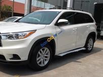 Bán Toyota Highlander LE 2.7 xuất Mỹ màu trắng, xe sản xuất 2016 mới 100%