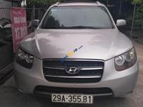 Bán Hyundai Santa Fe MLX đời 2006 đăng ký 2008 màu bạc nhập khẩu giá 555 triệu ĐT 0915558358