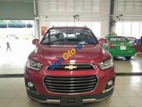 Bán ô tô Chevrolet Captiva LTZ đời 2016, màu đỏ
