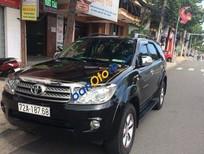 Cần bán xe Toyota Fortuner V đời 2011, màu đen
