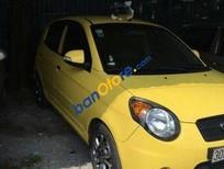 Cần bán xe Kia Morning AT đời 2008, màu vàng, 280tr