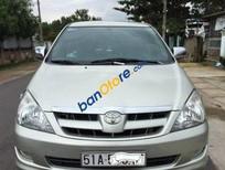 Cần bán xe cũ Toyota Innova MT 2008, màu bạc