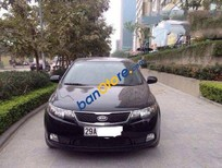 Bán xe cũ Kia Cerato AT đời 2011, màu đen số tự động giá cạnh tranh