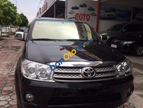 Cần bán xe cũ Toyota Fortuner 2.7V đời 2009, màu đen như mới
