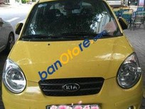Cần bán gấp Kia Morning AT 2009, màu vàng giá cạnh tranh
