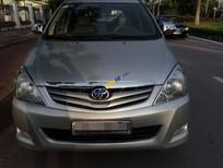 Bán Toyota Innova 2.0G đời 2008, màu bạc, xe gia đình