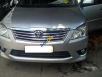 Bán xe Toyota Innova G số tự động sản xuất 08/2013 màu bạc