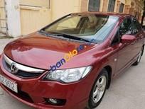 Bán ô tô Honda Civic AT đời 2008, màu đỏ, giá tốt