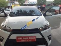 Bán Toyota Yaris 1.3E đời 2014, màu trắng, 605tr