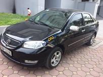 Bán xe Toyota Vios đời 2005, màu đen