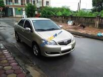 Bán xe cũ Toyota Vios đời 2007, màu vàng, 279tr