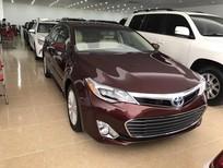 Bán Toyota Avalon Hybrid Limited xuất Mỹ 2016 xe màu đỏ Mận nội thất kem