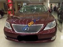 Bán Lexus LS đời 2008, màu đỏ, nhập khẩu nguyên chiếc