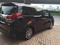 Cần bán Toyota Alphard Ecutive Lounge năm 2016, màu đen, nhập khẩu