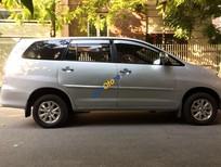 Bán gấp chiếc xe Toyota Innova G màu bạc đời 2008, xe gia đình đang đi