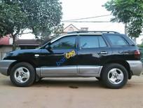 Bán ô tô Hyundai Santa Fe Gold đời 2003, màu đen, xe nhập số tự động