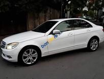 Cần bán lại xe Mercedes C230 Avantgarde đời 2007, xe đẹp, màu trắng