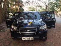 Cần bán xe Hyundai Santa Fe MLX đời 2009, màu đen, xe nhập