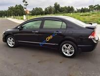 Lên đời bán Honda Civic 2.0AT đời 2008, màu đen, nhập khẩu