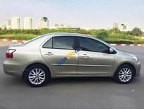 Cần bán lại xe Toyota Vios 1.5E đời 2010, màu vàng chính chủ