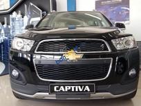 Bán xe Chevrolet Captiva LTZ 2015, màu đen, giá tốt, hỗ trợ trả góp lên tới 80%