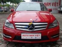 Bán ô tô Mercedes C300 AMG đời 2012, màu đỏ