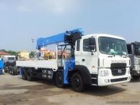 Chuyên bán xe tải Hyundai 19 tấn trả góp gắn cẩu Unic 8 tấn