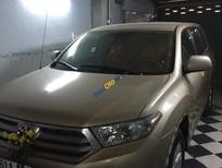 Bán Toyota Highlander LE đời 2011, màu vàng, nhập khẩu chính hãng