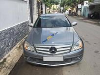 Bán Mercedes C200 1.8 AT đời 2010, màu xám (ghi), 590 triệu